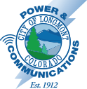 Longmont Power Communications Logo