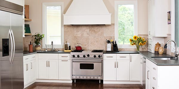 home with energy efficient appliances